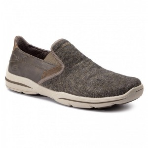 Skechers Halbschuhe Trefton 65579/BRN Brown [Outlet]