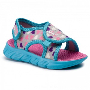 Skechers Sandalen Print Asic 86934N/GYMT Gray/Mt [Outlet]