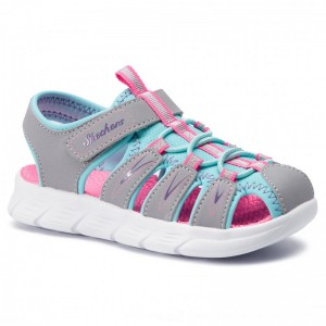 [BLACK FRIDAY] Skechers Sandalen Aqua Steps 86939L/GYTQ Gray/Turquoise