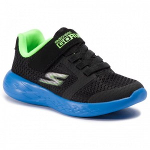 Skechers Schuhe Roxlo 97860L/BBLM Blk/Blue/Lime [Outlet]