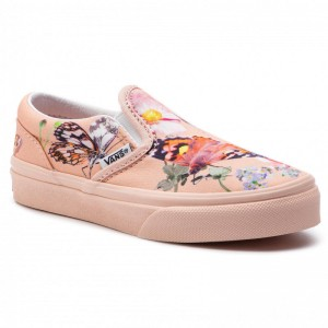 Vans Turnschuhe Classic Slip-On VN0A32QIVIE1 (Molo) Butterfiles [Outlet]