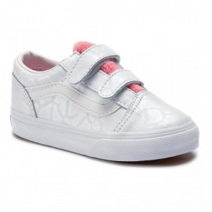 Vans Turnschuhe Old Skool V VN0A344KVIV1 (White Giraffe) True Wht [Outlet]