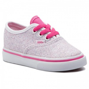 Vans Turnschuhe Authentic VN0A38E7VI61 (Glitter Stars) True Whit [Outlet]