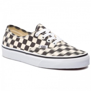 Vans Turnschuhe Authentic VN0A38EMVJM1 (Blur Check) Black/Classi