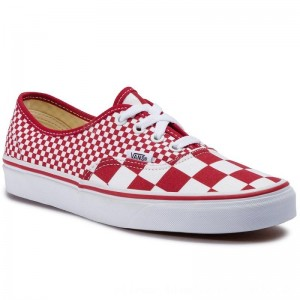 Vans Turnschuhe Authentic VN0A38EMVK51 (Mix Checker) Chili Peppe
