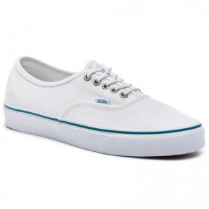 Vans Turnschuhe Authentic VN0A38EMVK91 (P.E.T.) True White/Ocean [Outlet]