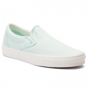 Vans Turnschuhe Classic Slip-On VN0A38F7VLP1 (Brushed Twill) Soothing [Outlet]