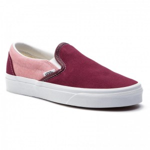 Vans Turnschuhe Classic Slip-On VN0A38F7VLR1 (Chambray) Vanvas Port Ro