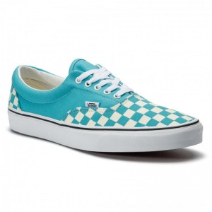 Vans Turnschuhe Era VN0A38FRVOW1 (Checkerboard) Scuba Blue [Outlet]