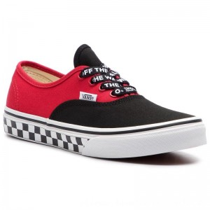 Vans Turnschuhe Authentic VN0A38H3VI71 (Logo Pop) Black/True Whi [Outlet]