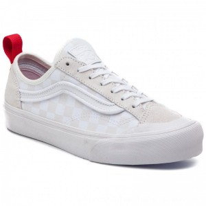 Vans Turnschuhe Style 36 Decon Sf VN0A3MVLVL81 (Leila Hurst) White/Check [Outlet]