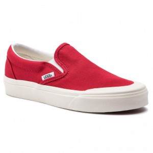 Vans Turnschuhe Classic Slip-On 1 VN0A3TKBFTZ1 Tango Red [Outlet]