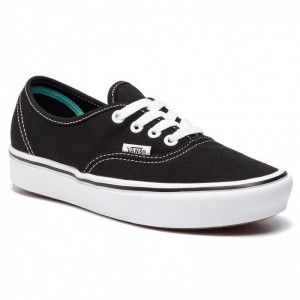 Vans Turnschuhe Comfycush Authent VN0A3WM7VNE1 (Classic) Black/True Whit [Outlet]
