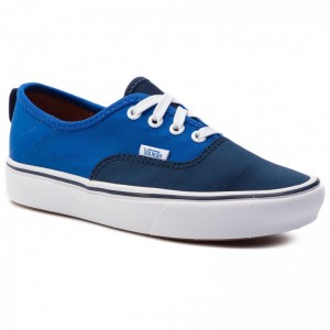Vans Turnschuhe Comfycush Authe VN0A3WM8VN91 (2 Tone) Dress Blues/Lapi [Outlet]