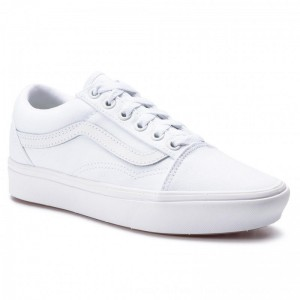Vans Turnschuhe Comfycush Old S VN0A3WMAVNG1 True White/True [Outlet]