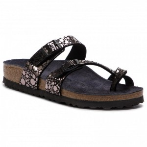 [BLACK FRIDAY] Birkenstock Zehentrenner Mayari 1008860 Metallic Stones Black