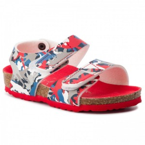 Birkenstock Sandalen Palu Kids Bs 1012700 Dino Camo Red [Outlet]