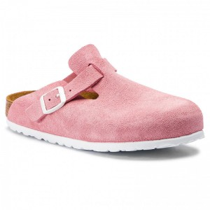 Birkenstock Pantoletten Boston Bs 1012838 Rose [Outlet]