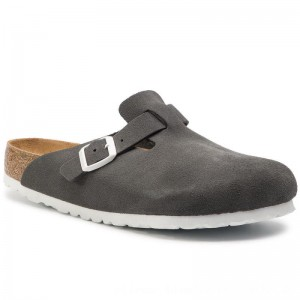 [BLACK FRIDAY] Birkenstock Pantoletten Boston Bs 1012843 Gunmetal