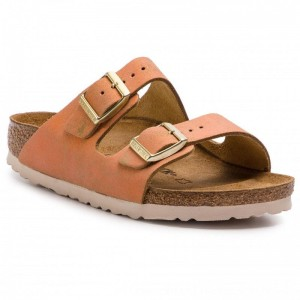 [BLACK FRIDAY] Birkenstock Pantoletten Arizona Bs 1012902 Washed Metallic Sea Copper