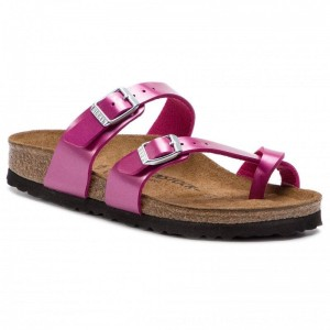 [BLACK FRIDAY] Birkenstock Zehentrenner Mayari 1012974 Metallic Cuts Magenta