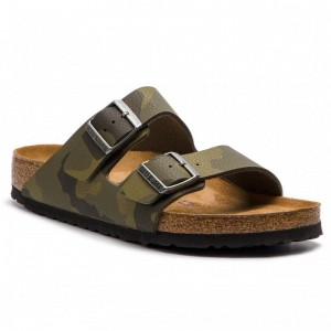 [BLACK FRIDAY] Birkenstock Pantoletten Arizona Bs 1013013 Desert Soil Camouflage Green