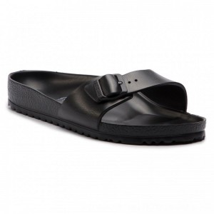 Birkenstock Pantoletten Madrid 0128161 Black [Outlet]