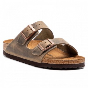 Birkenstock Pantoletten Arizona Bs 0352203 Tabacco Brown [Outlet]
