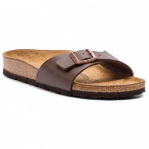 [BLACK FRIDAY] Birkenstock Pantoletten Madrid Bs 0040393 Dark Brown