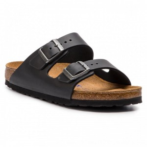 Birkenstock Pantoletten Arizona Bs 0752483 Black [Outlet]