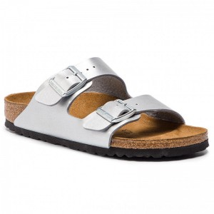 Birkenstock Pantoletten Arizona Bs 1012283 Silver [Outlet]