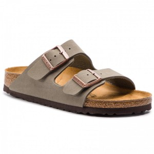 Birkenstock Pantoletten Arizona Bs 0151213 Stone [Outlet]