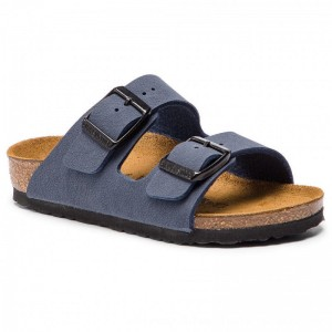 Birkenstock Pantoletten Arizona Kids 552903 Navy [Outlet]