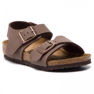 Birkenstock Sandalen New York Kids Bs 87783 Mocha [Outlet]