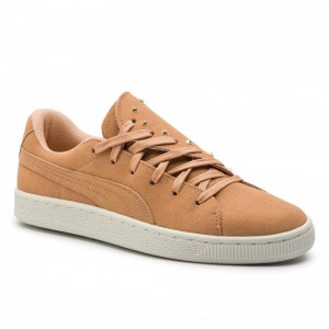 Puma Sneakers Suede Crush Studs Wns 369688 01 Toast/Toast [Outlet]