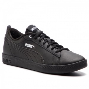 Puma Sneakers Smash Wns v2 L 365208 03 Black/Puma Black [Outlet]