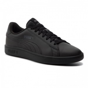Puma Sneakers Smash V2 L 365215 06 Black/Puma Black [Outlet]