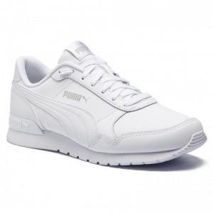 [BLACK FRIDAY] Puma Sneakers St Runner v2 L Jr 366959 02 White/Gray Violet