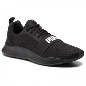Puma Schuhe Wired 366970 01 Black/Puma Black/Black [Outlet]