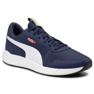 Puma Sneakers NRGY Neko Retro 192509 07 Peacoat/Puma White [Outlet]