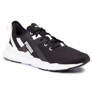 Puma Schuhe Weave Xt Wn's 192611 01 Black/Puma White [Outlet]
