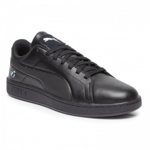 Puma Sneakers BMW MMS Smash V2 306450 03 Black/Puma Black [Outlet]