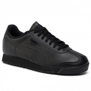 [BLACK FRIDAY] Puma Sneakers Roma Basic Jr 354259 12 Black/Black