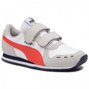 Puma Sneakers Cabana Racer Sl V Ps 360732 76 White/Gray Violet [Outlet]
