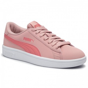 Puma Sneakers Smash V2 Buck Jr 365182 12 Bridal Rose/Calypso Coral [Outlet]