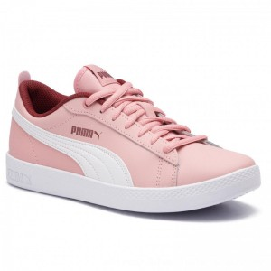 Puma Sneakers Smsh Wns V2 L 365208 15 Bridal Rose/FiredBrick/Rose [Outlet]
