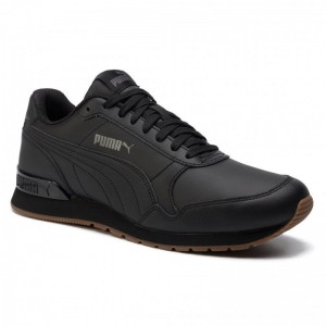 Puma Sneakers St Runner V2 Full L 365277 08 Black/Castlerock [Outlet]
