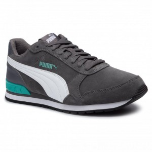 Puma Sneakers ST Runner v2 SD 365279 09 Casterock/Puma White [Outlet]