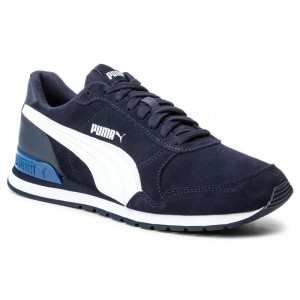 Puma Sneakers St Runner V2 Sd 365279 10 Peacoat/Puma White [Outlet]