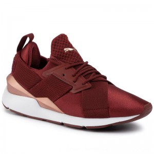 Puma Sneakers Muse Satin Ep Wn's 365534 18 Fired Brick [Outlet]